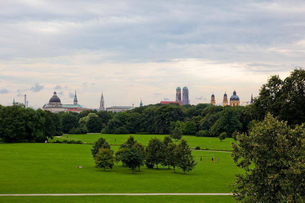 Мюнхен. Английский парк.
